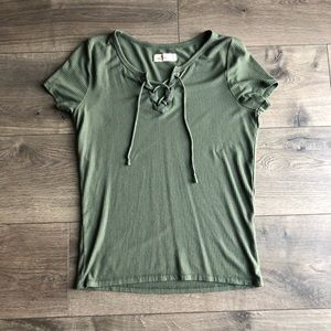 Hollister tight fitted shirt